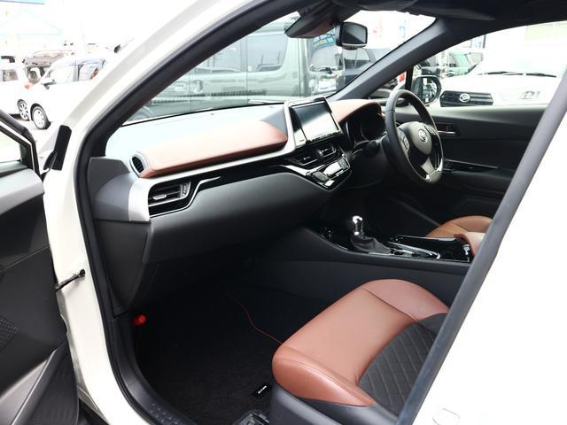 G-T モード ブルーノ トヨタセーフティーセンス 9型SDナビ フルセグTV ブルーートゥース 茶革 スマートキー LEDライト ETC 禁煙車 ソナー レーダークルーズ 純正18AW(5枚目)