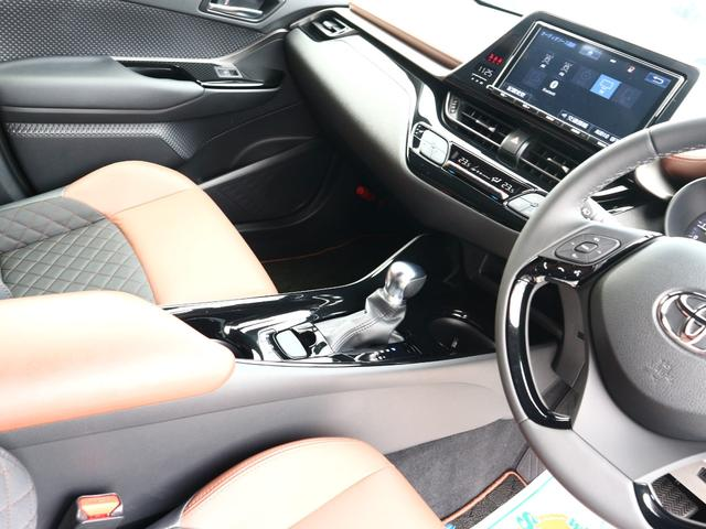 G-T モード ブルーノ トヨタセーフティーセンス 9型SDナビ フルセグTV ブルーートゥース 茶革 スマートキー LEDライト ETC 禁煙車 ソナー レーダークルーズ 純正18AW(10枚目)