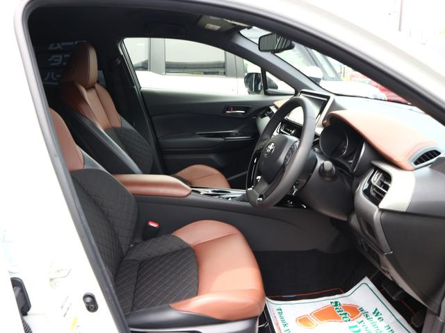 G-T モード ブルーノ トヨタセーフティーセンス 9型SDナビ フルセグTV ブルーートゥース 茶革 スマートキー LEDライト ETC 禁煙車 ソナー レーダークルーズ 純正18AW(14枚目)