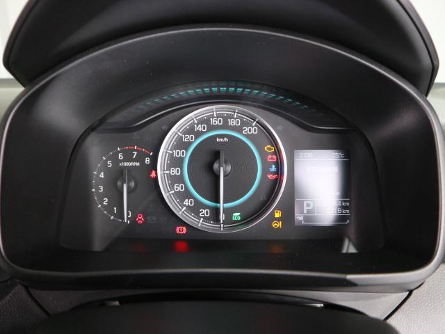 燃費効率が良くなると、メーターの照明がブルーからグリーンに変化☆エコドライブをサポートします♪