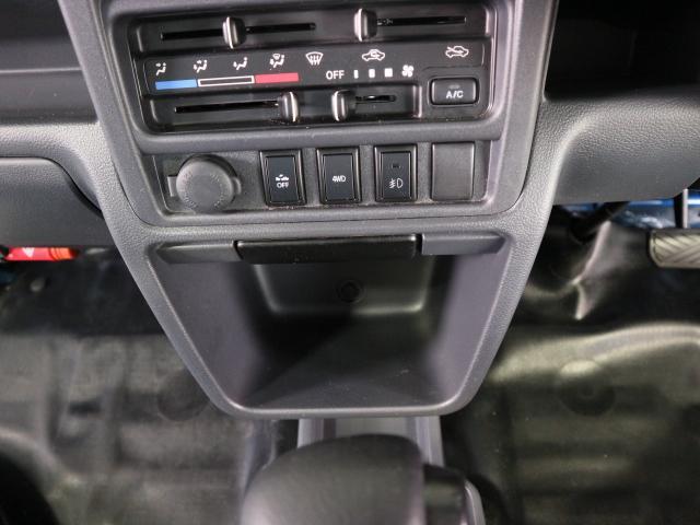 2WDと4WDの切り替えはワンタッチで可能です!