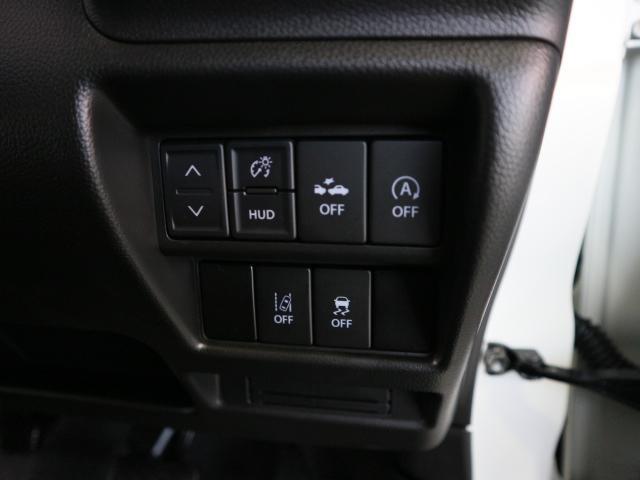 アイドリングストップやデュアルセンサーブレーキサポート等の機能はスイッチ1つでON/OFF切り替えが可能。