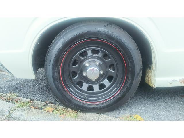 トヨタ クラウンバン DX クーパーコブラタイヤ