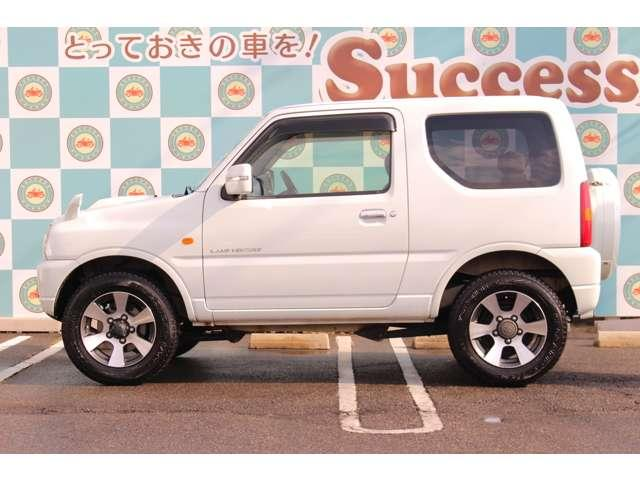ランドベンチャー 4WD 5速マニュアル シートヒーター キーレス 純正アルミホイール オーディオ リアタイヤハウス(4枚目)