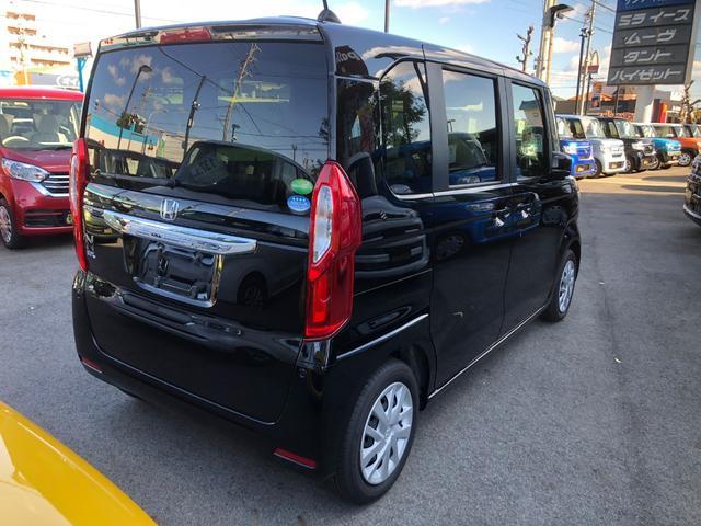 ホンダ N BOX G・Lセンシング 届出済未使用車 車両状態評価書 衝突軽減