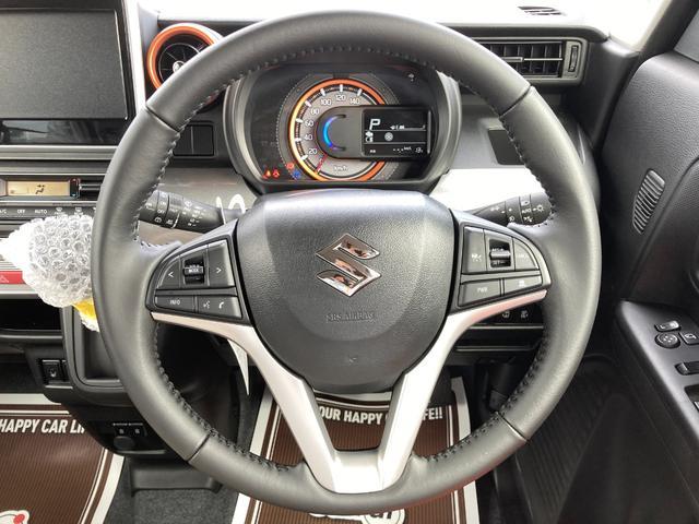 ハイブリッドXZ 届出済未使用車 デュアルカメラブレーキ LEDライト ベンチシート フルフラット シートヒーター マイルドハイブリッド スマートキー プッシュスタート アダプティブクルーズコントロール 軽自動車(16枚目)