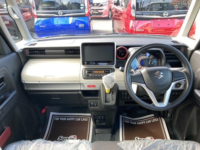 ハイブリッドX 届出済未使用車 デュアルカメラブレーキ 両側電動スライド  スマートキー オートエアコン シートヒーター ベンチシート フルフラット マイルドハイブリッド 軽自動車(13枚目)