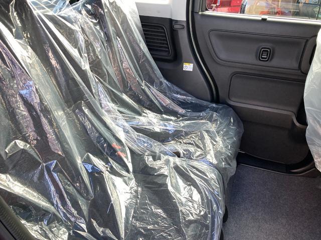 ハイブリッドX 届出済未使用車 デュアルカメラブレーキ 両側電動スライド  スマートキー オートエアコン シートヒーター ベンチシート フルフラット マイルドハイブリッド 軽自動車(25枚目)