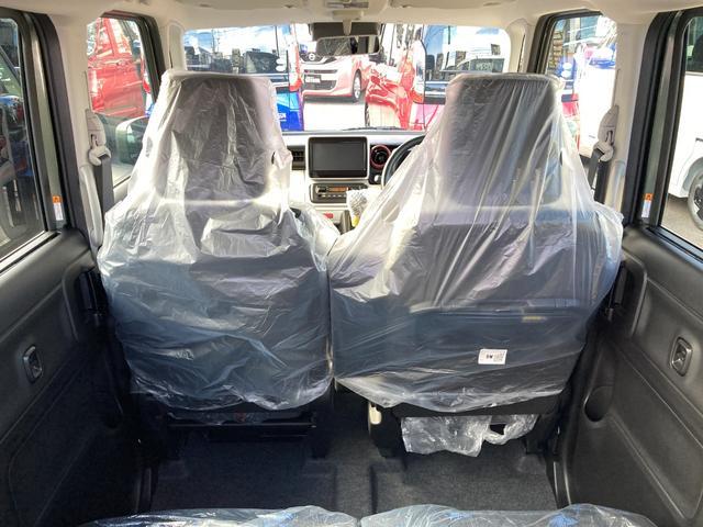 ハイブリッドX 届出済未使用車 デュアルカメラブレーキ 両側電動スライド  スマートキー オートエアコン シートヒーター ベンチシート フルフラット マイルドハイブリッド 軽自動車(26枚目)