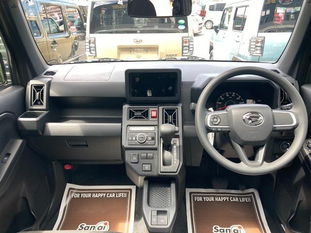 X 届出済未使用車 衝突軽減ブレーキ スカイフィールトップ コーナーセンサー オートライト スマートキー アイドリングストップ LEDライト バックカメラ 電動パーキングブレーキ SUV 軽自動車(14枚目)