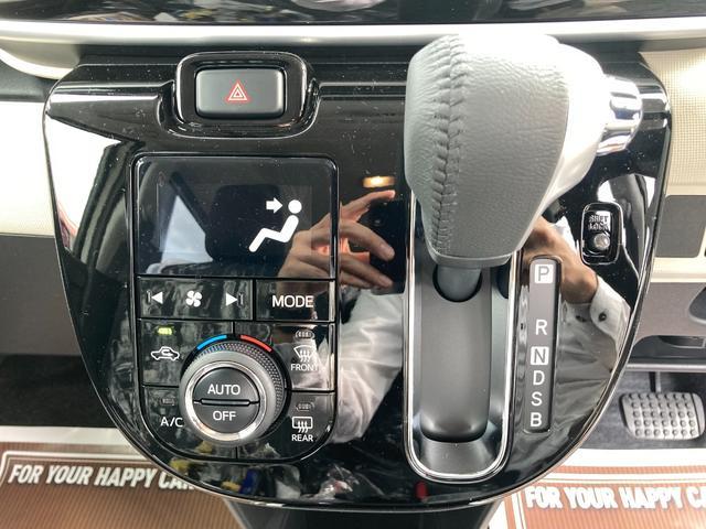 GブラックインテリアVS SAIII 届出済未使用車 純正ナビ 前後ドライブレコーダー 衝突軽減ブレーキ フルセグ 全方位カメラ シートヒーター Bluetooth スマートキー 両側電動スライド LEDライト 特別仕様車 軽自動車(14枚目)