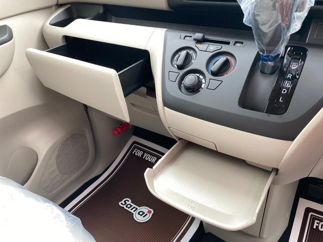 S 届出済未使用車 衝突軽減ブレーキ 両側スライド オートライト キーレスエントリー コーナーセンサー アイドリングストップ ベンチシート フルフラット 軽自動車(22枚目)