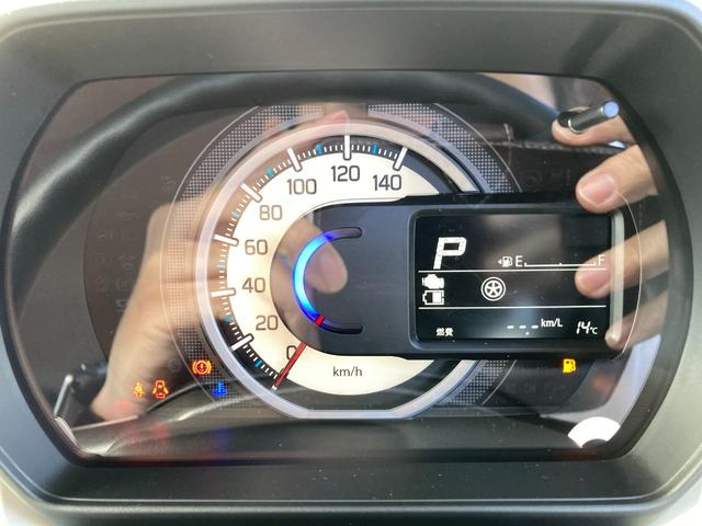 ハイブリッドG 届出済未使用車 デュアルカメラブレーキ 両側スライドドア コーナーセンサー  スマートキー オートエアコン ベンチシート フルフラット マイルドハイブリッド 軽自動車(14枚目)
