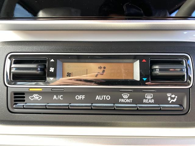 ハイブリッドX 届出済未使用車 デュアルカメラブレーキ 両側電動スライド  スマートキー オートエアコン シートヒーター ベンチシート フルフラット マイルドハイブリッド 軽自動車(15枚目)
