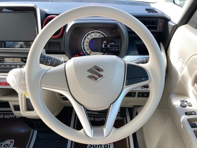 ハイブリッドX 届出済未使用車 デュアルカメラブレーキ 両側電動スライド  スマートキー オートエアコン シートヒーター ベンチシート フルフラット マイルドハイブリッド 軽自動車(16枚目)