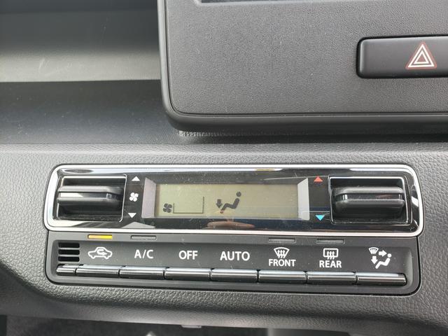 車内を設定した温度にキープしてくれるオートエアコン付き★シフトレバーがインパネにあるので、運転席と助手席の行き来もラクラク♪シートを広く使えるのも嬉しいポイントですね!!
