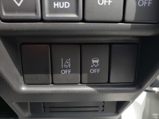 緊急ブレーキ機能だけでなく、走行安定性能を高める『横滑り防止機能』や車線からのはみだしを音で知らせる『車線逸脱警報機能』など、様々なシーンで活躍する機能がたっぷりです!!
