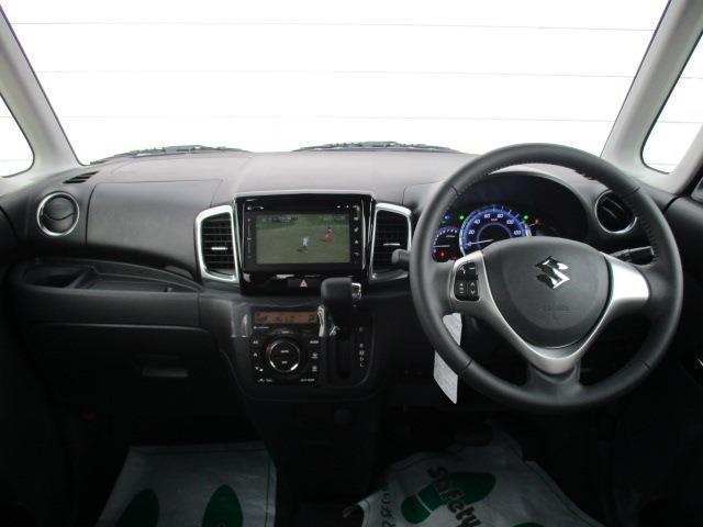 スズキ スペーシアカスタム XS デュアルカメラブレーキサポート装着車 純正ナビ