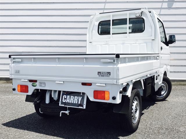 スズキ キャリイトラック KCエアコン・パワステ農繁仕様 3方開 4WD