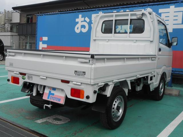 KCエアコン・パワステ農繁仕様 4WD MT 届出済未使用車(2枚目)