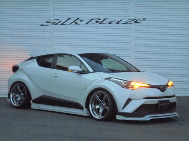トヨタ C-HR 新車シルクブレイズコンプリート車高調ナビ20インチアルミ