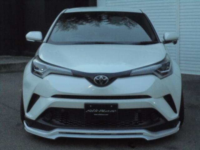トヨタ C-HR シルクブレイズ新作エアロコンプリートキット ローダウン