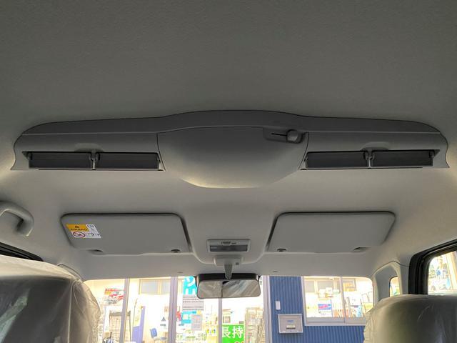 エアコンの風を車内に循環させてくれる「サーキュレーター」が付いています。