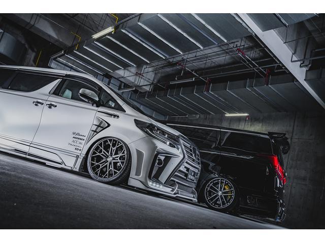 トヨタ アルファード 2.5S後期ROWENコンプリートカー車高調 BIG-Xナビ