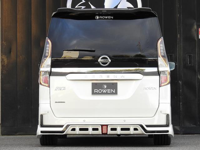 ハイウェイスターV 新車ROWENコンプリートカー ROWENエアロパーツ4点KIT!BLITZ車高調!WORK19インチホイール!カロッツエリア7インチナビ&バックカメラ!新車コンプリートカー販売(14枚目)