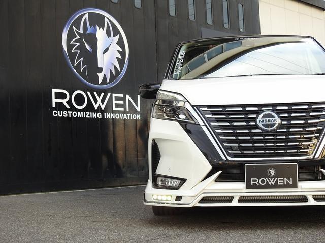ハイウェイスターV 新車ROWENコンプリートカー ROWENエアロパーツ4点KIT!BLITZ車高調!WORK19インチホイール!カロッツエリア7インチナビ&バックカメラ!新車コンプリートカー販売(29枚目)