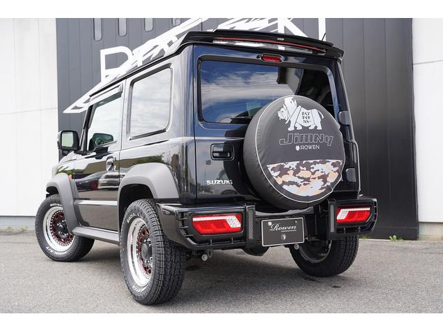 JC 4WD ROWENエアロ フロントバンパー フロントグリル ボンネットフードカバー リアバンパー リアウイング WORK15インチAW オリジナルシートカバー 純正8型SDナビ(8枚目)