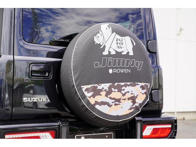 JC 4WD ROWENエアロ フロントバンパー フロントグリル ボンネットフードカバー リアバンパー リアウイング WORK15インチAW オリジナルシートカバー 純正8型SDナビ(9枚目)