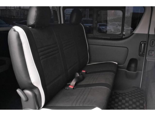 スーパーGL ダークプライムII 新車未登録 ディーゼルターボ ROWENコンプリート仕様 ROWENエアロKIT 玄武ローダウン WORK16インチAW LEDテールレンズ ハーフレザー トヨタセーフティセンス(21枚目)