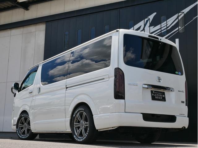 スーパーGL 50TH アニバーサリーリミテッド 両側電動 LEDヘッド 衝突軽減 車線逸脱 オートハイビーム バッドラッカー16インチAW オーレンカウンターホワイトレター 2インチローダウン ベッドキット ヴァレンティLEDテール AC100V(5枚目)