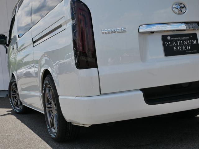 スーパーGL 50TH アニバーサリーリミテッド 両側電動 LEDヘッド 衝突軽減 車線逸脱 オートハイビーム バッドラッカー16インチAW オーレンカウンターホワイトレター 2インチローダウン ベッドキット ヴァレンティLEDテール AC100V(6枚目)