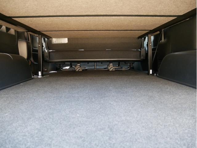 スーパーGL 50TH アニバーサリーリミテッド 両側電動 LEDヘッド 衝突軽減 車線逸脱 オートハイビーム バッドラッカー16インチAW オーレンカウンターホワイトレター 2インチローダウン ベッドキット ヴァレンティLEDテール AC100V(34枚目)
