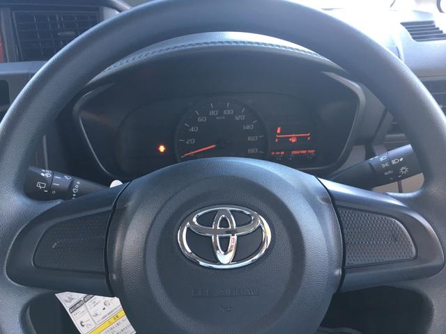トヨタ タンク 1.0X 登録済未使用車 電動スライドドア スマートキー