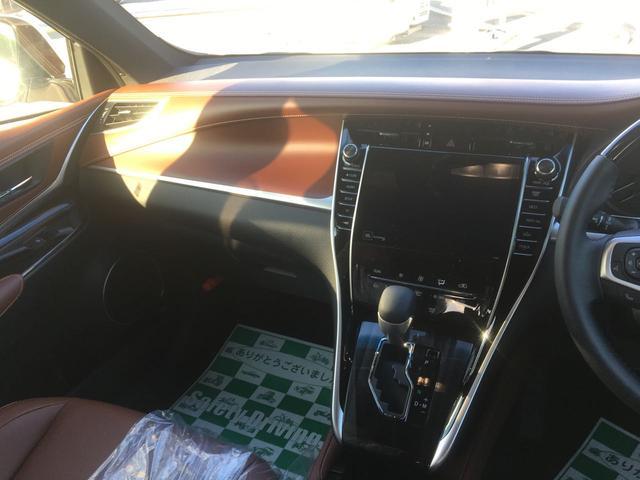 トヨタ ハリアー プレミアム 新車未登録 ムーンルーフ ナビ地デジ