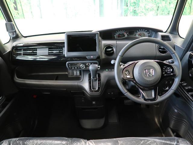 Lターボ 届出済み未使用車 ターボ 衝突被害軽減装置 両側パワスラ LEDヘッド&フォグランプ オートライト クリアランスソナー アダプティブクルコン 前席シートヒーター アイドリングストップ バックカメラ(2枚目)