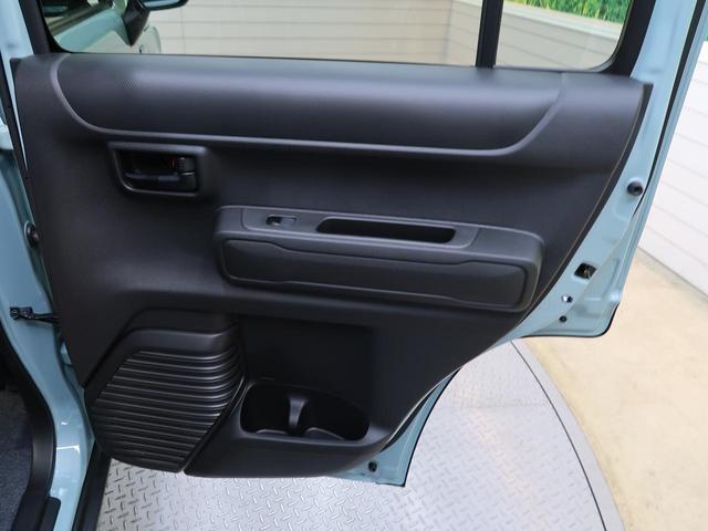 ハイブリッドG スズキセーフティーサポート 届出済未使用車 シートヒーター スマートキー オートエアコン オートライト ステアリングスイッチ 純正15インチアルミ 盗難防止装置 プライバシーガラス(27枚目)