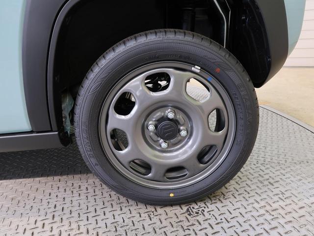 ハイブリッドG スズキセーフティーサポート 届出済未使用車 シートヒーター スマートキー オートエアコン オートライト ステアリングスイッチ 純正15インチアルミ 盗難防止装置 プライバシーガラス(61枚目)