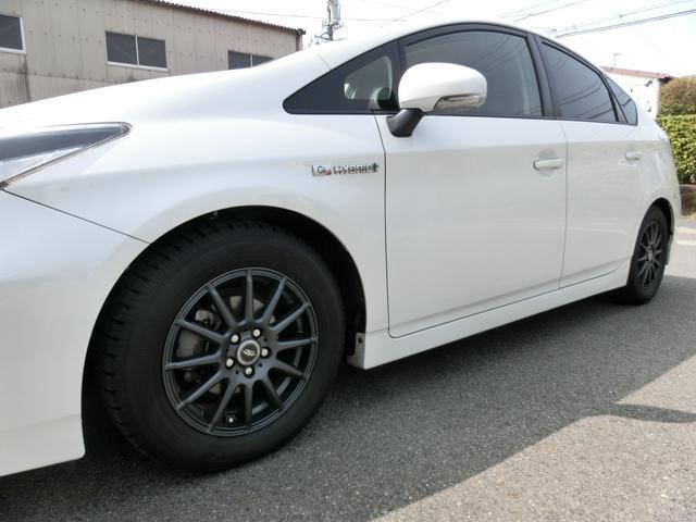 トヨタ プリウス Sツーリングセレクション・G's アルパイン8インチ