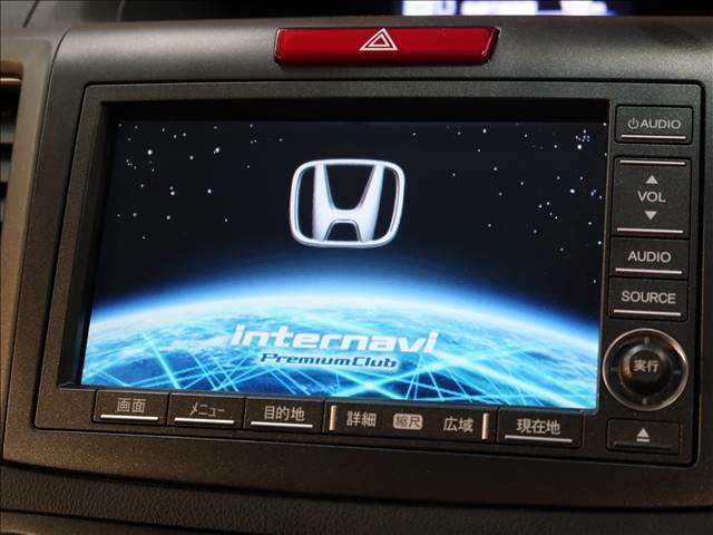 純正インターナビを装備でロングドライブも快適です。TV再生可能!
