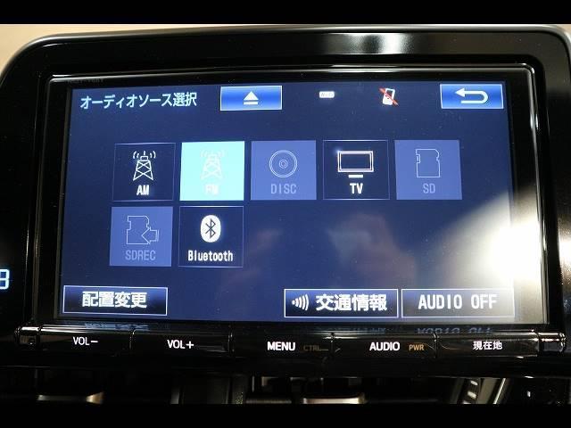 フルセグ内蔵のSDナビ搭載。DVD再生、Bluetoothも対応可能です。