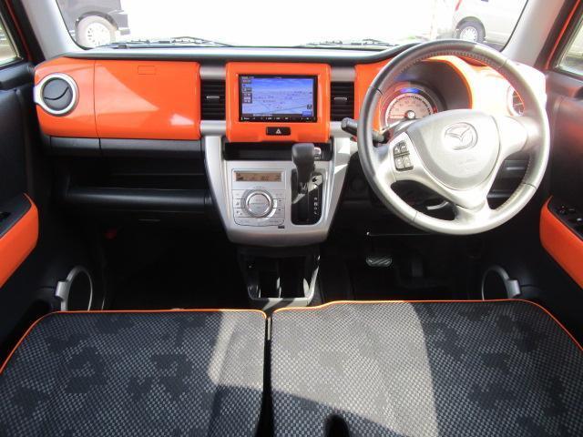 XS ナビ/ワンセグ/スマートキー/衝突軽減ブレーキ/アイドリングストップ/ETC/盗難防止装置/横滑防止装置/シートヒーター/HID/ベンチシート/運転席・助手席エアバック/CD(3枚目)