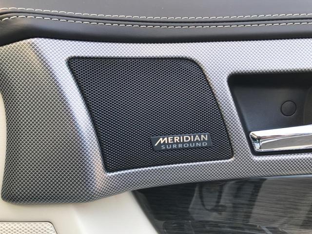 XFR 認定 クルーズコントロール 開閉式パノラミックルーフ シートヒーター&クーラー シートメモリー パワーシート 20インチアルミ バックカメラ MERIDIAN アイボリーレザー プライバシーガラス(7枚目)