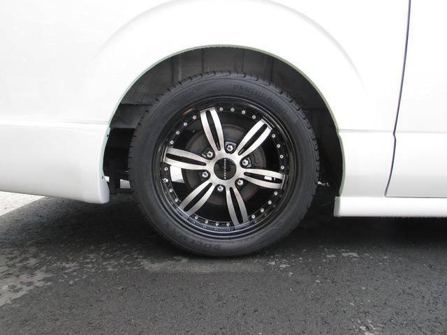 トヨタ ハイエースバン Fリップ・ワイパーガード・ナビ・Bカメラ・Rモニター・保障付
