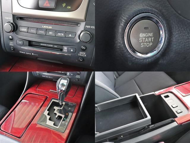 GS350 純正HDDナビBカメ 音楽録音 ETC Pシート(12枚目)