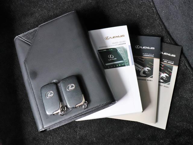 GS350 純正HDDナビBカメ 音楽録音 ETC Pシート(18枚目)