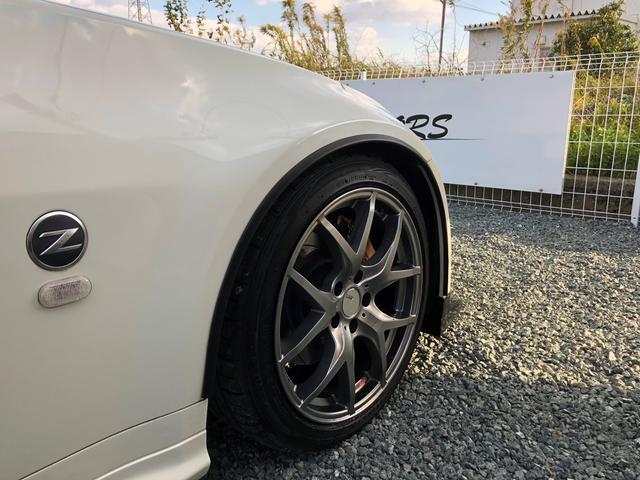 日産 フェアレディZ バージョンS 修復歴無し・鑑定済 6速MT 車高調 マフラー